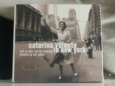 CATERINA VALENTE - IN NEW YORK CD NEAR MINT WITH ILLUSTRATED BOOKLET