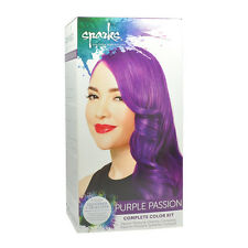 Sparks Purple Passion Complete Color & Lightener System Bright Dye Hair