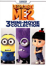 Despicable Me 2: 3 Mini-Movie Collection (DVD, 2015) L@@K Free Shipping!!!