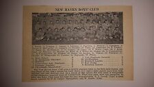 New Haven Boys' Club & Weaver High School Hartford CT 1927 Football Team Picture