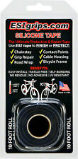 ESI SILICONE 10' FOOT ROLL BICYCLE FRAME PROTECTOR BLACK TAPE