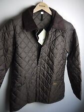 Barbour Men's Liddesdale Quilted Jacket, NWT, Rustic Brown, Small