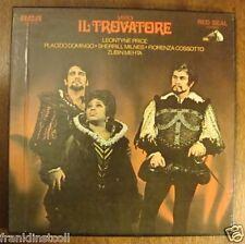Il Trovatore – Leontyne Price – Placido Domingo – Sherrill Milnes – RCA LSC 6194