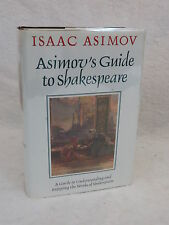 Isaac Asimov ASIMOV'S GUIDE TO SHAKESPEARE 2 Vols in One Wings c. 1970 HC/DJ