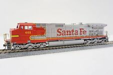 Athearn HO Scale GE C44-9W Santa Fe Powered Diesel Locomotive #611 DCC