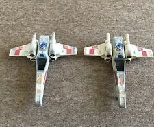 Vintage Star Wars POTF2 X- Wing Fighters. Working Sfx. Hasbro 1995