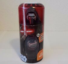 FACTORY SEALED KYLO REN STAR WARS FORCE AWAKENS WATCH RED BAND PLUS COIN BANK