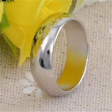 Strong Magnetic Ring Round Silver Ring Magic Trick Props Magician Show Tool