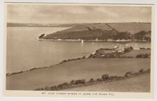 Cornwall postcard - St Just Creek where it Joins the River Fal