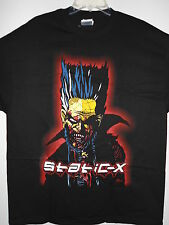NEW - STATIC X BAND / CONCERT / MUSIC T-SHIRT EXTRA LARGE