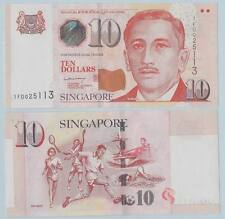 Singapore 10 Dollars ND(2005) UNC (sign title: MAS by Lee Hsieh Loong)