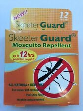 12-patches Skeeter Guard Mosquito Repellent 12 hours peel-Stick Patch Free Ship
