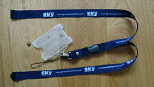 GERMAN SKY AIRLINE LANYARD WITH PASSHOLDER AND MEMORY KEY STRAP ~HIGHLY RARE~