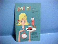 1963 VINTAGE GEL IT! EASY WAYS TO BE A SPECTACULAR COOK RECIPE BOOKLET