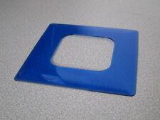 KOPP Dekorrahmen Tapetenschutz 1-fach DEKOR blau UP Unterputz alle Serien