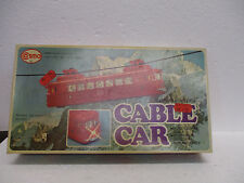 COSMO Battery Powered Cable Car *Vintage 1960s Toy* **Great Condition!**