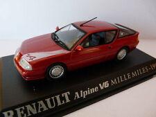 Voiture 1/43 M6 norev/Universal Hobbies  RENAULT ALPINE v6 MILLE MILES 1990