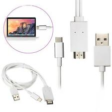 USB-C USB3.1 MHL Type C to HDMI 1080p HD TV Video Adapter Cable for LeTV Phone