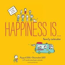 Happiness Is . . . Family Calendar (August 2016 - December 2017)