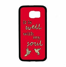 Religious It Is Well With My Soul for Samsung Galaxy S6 i9700 Case Cover