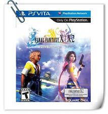【2 IN 1】 PSV PlayStation VITA FINAL FANTASY X / X-2 HD REMASTER RPG Square Enix
