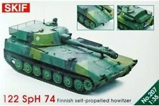 SKIF 207 1/35 122 SpH 74 Finnish Self-Propelled Howitzer