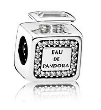 Authentic Pandora 791889CZ Signature Scent Perfume Bottle Charm Box Included