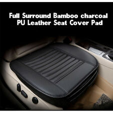 Auto Car Seat Cover Full Surround Cushion PU Leather Bamboo Charcoal Mat Protect