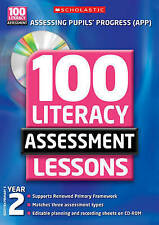 100 Literacy Assessment Lessons: Year 2 by Eileen Jones (Mixed media product, 20
