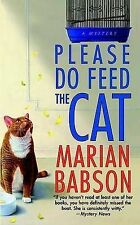 Good, Please Do Feed the Cat, Babson, Marian, Book