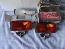 Quartz Ray Blazer fog lights Amber Japan Glass NOS Hella Cibie