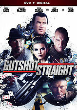 Gutshot Straight [DVD + Digital] DVD, Levine, Ted, Lang, Stephen, Seagal, Steven