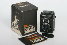 Lomo Lubitel 166B Twin Lens Reflex Camera * Nice working with box