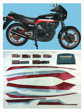 Kit comp.Kawasaki GPZ 550 mod. nera - adesivi/adhesives/stickers/decal