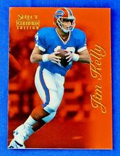 1996 Jim Kelly Pinnacle Select Certified Edition (Red) Bills Football Card (#81)