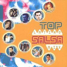 Various Artists Top Latino Salsa Mix CD