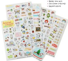New Petitcochonn VLittle Piggy Diary DIY Scrap-booking Stickers 6 Sheets