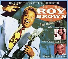 Roy Brown - Roy Brown & New Orleans R&B [Remaster]  (4CD, Sep-2005, JSP)