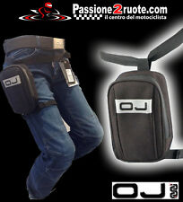 Oj M100 Mini Pista Borsello Bolsa pierna moto scooter atv quad leg bag