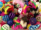 Bulk Toys Cat Kitten Dog Pet Play Feather Catnip Mouse Ball Buy 10 Get 1 FREE