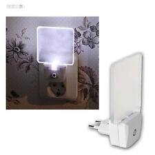 LED Lámpara noche con Sensor Luz de orientación/Lamparilla para Tomacorriente