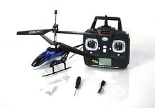 "RC Helicopter Syma S32 Remote Radio Control 2.4G 3CH 12"" RC Helicopter Blue Heli"