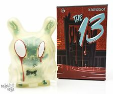 "Grisly Phantom #2 - Kidrobot The 13 Dunny Series by Brandt Peters 3"" Figure New"
