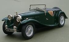 Lansdowne Models 1938 AC 16/80 Sports Roadster Green