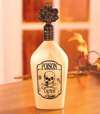 "11"" Halloween POISON BOTTLE Skull Picture Decoration Haunted House Prop Gag Gift"