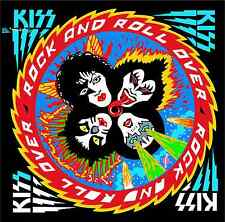 "KISS Rock and Roll Over Music Bumper Sticker 5"" x 5"""