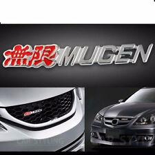 New JDM 3D Metal MUGEN GRILL BADGE Front Grille Emblem MUGEN Logo HONDA ACURA