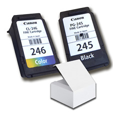 Genuine Canon Black PG 245 & CL 246 Color Ink Cartridge for MG2522 MG2922 MX492