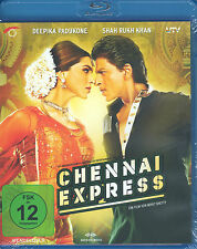 CHENNAI EXPRESS - Bollywood Film Blu-ray - mit Shahrukh Khan