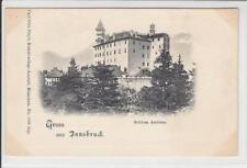 AK Innsbruck, Schloss Ambras, 1900